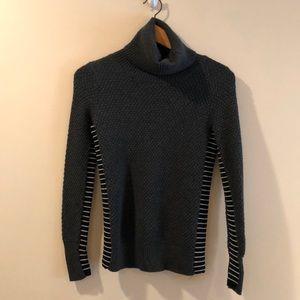 Athleta Merino Extra Fine Wool Turtle Neck Sweater